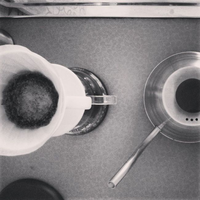 Coffee Handfiltered Hario V60 Black And White Coffeenerds