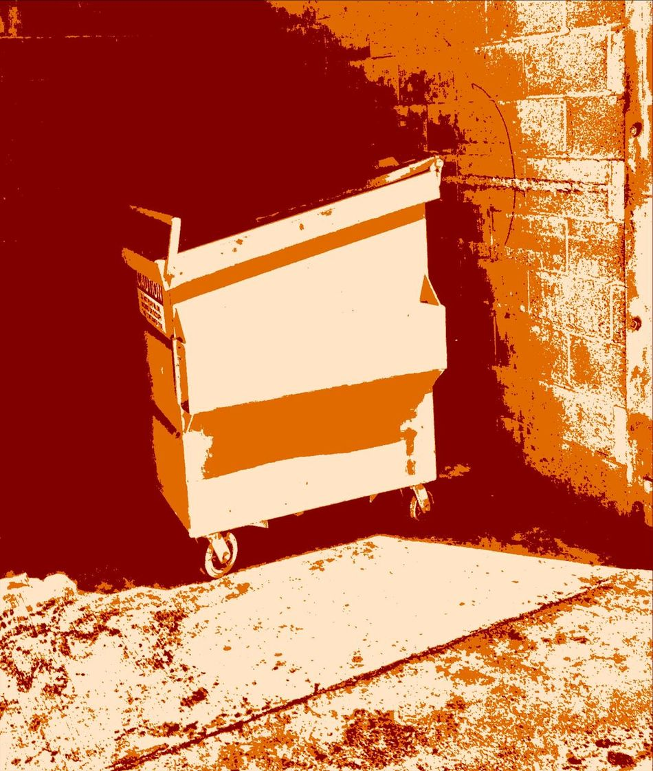 """""""Dumpster Dive"""" Dumpsterdiving Dumpster Textures And Surfaces Pattern, Texture, Shape And Form"""