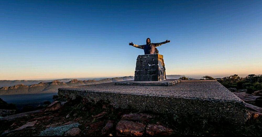 That's Me on top of the world! Or at least on top of Mt William Thegrampians Victoria Australia Mountain Canon Landscape Canonaustralia 5dmklll
