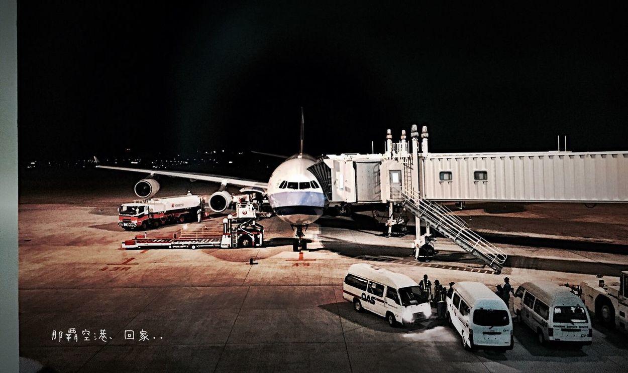 肆月參拾。那霸空港,準備回家。。。 Travel Airport Okinawa Go Home Iphone6