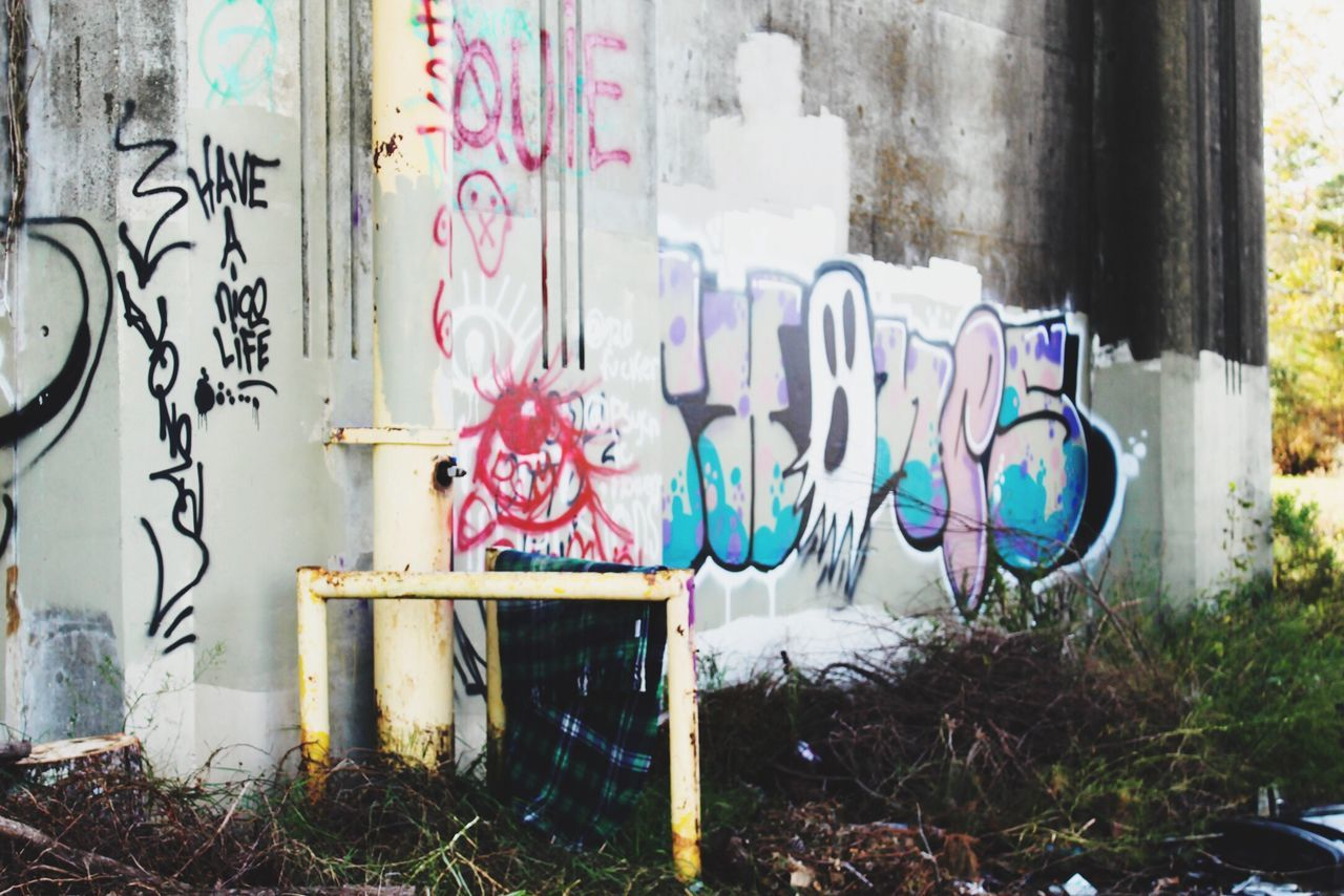 Graffiti Day No People Plant Built Structure Architecture Outdoors Urban Urbanphotography Overpass City