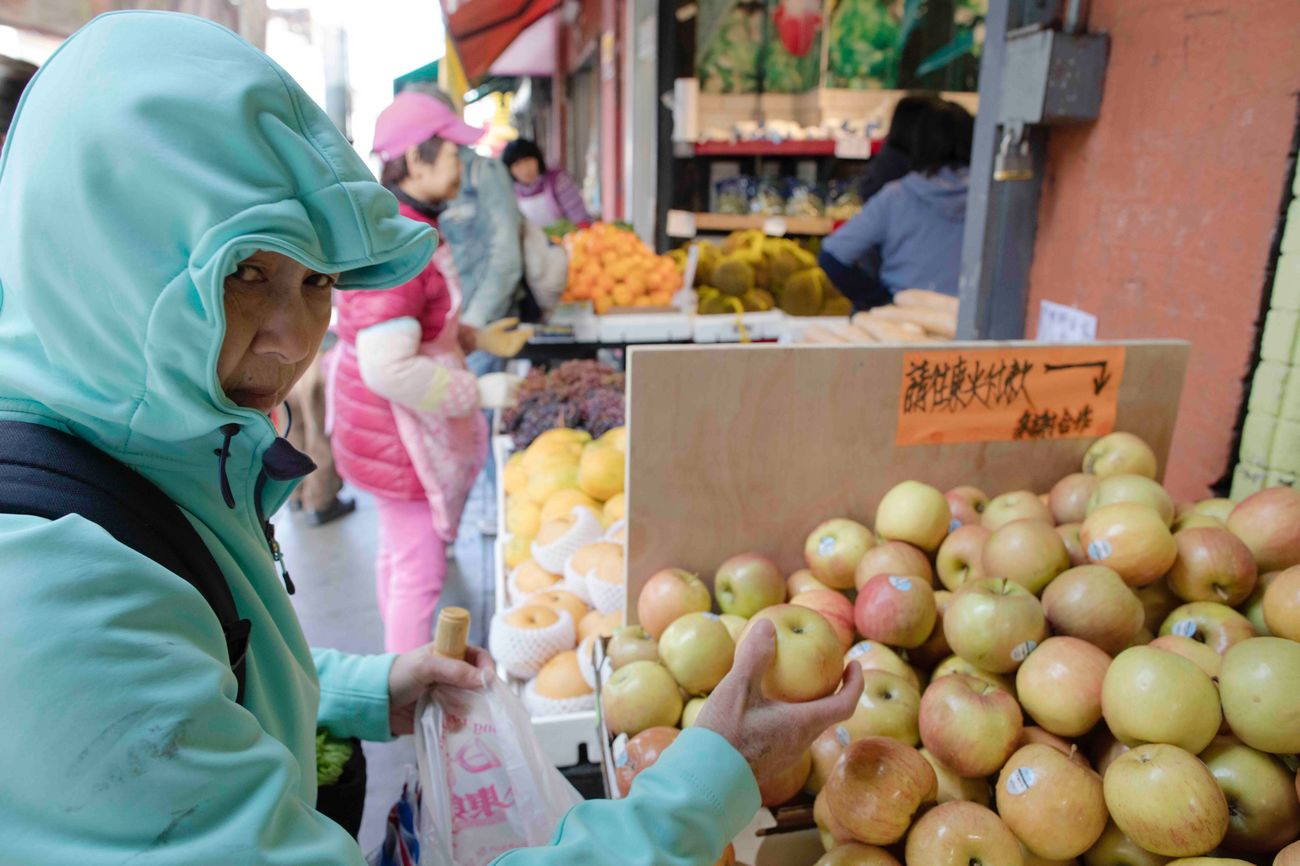 Going To Market Chinatown San Francisco