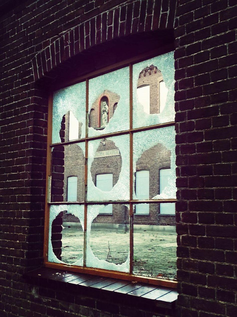 Broken faith Broken Glass Abandoned Places Street Photography