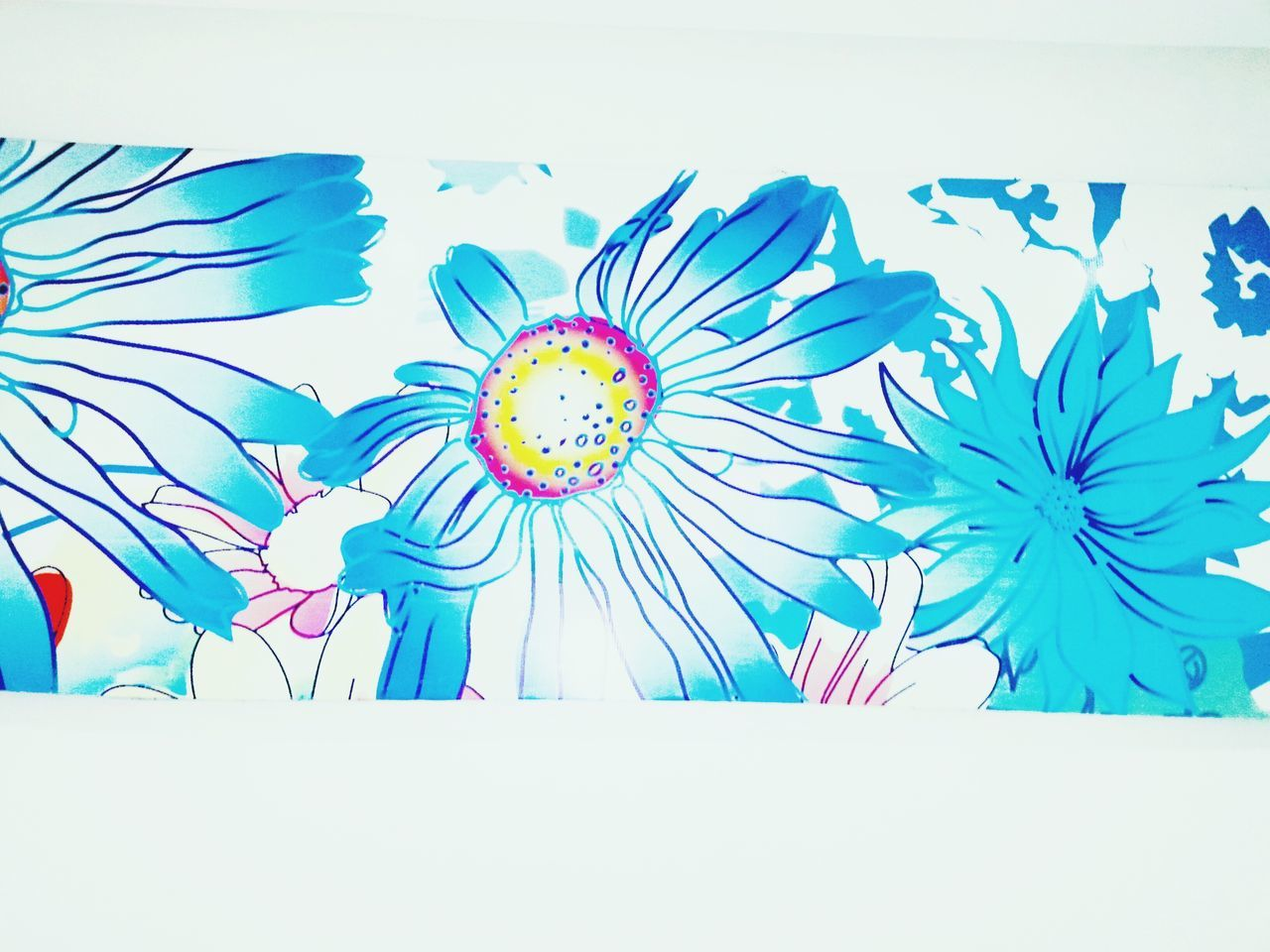 Watercolor Painting Painted Image Multi Colored No People Flower Ink Close-up Day