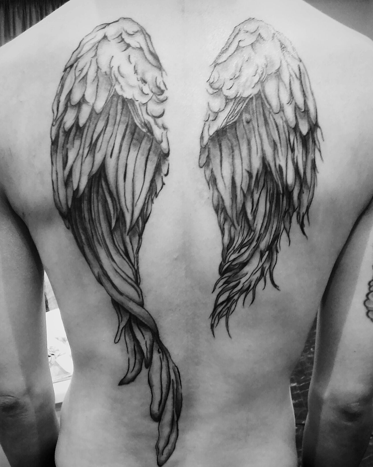 Tattoo In Japan Tattoos Drawing Painting Inked Japan - Takamatsu Takamatsu-shi Wings Wingman My Work