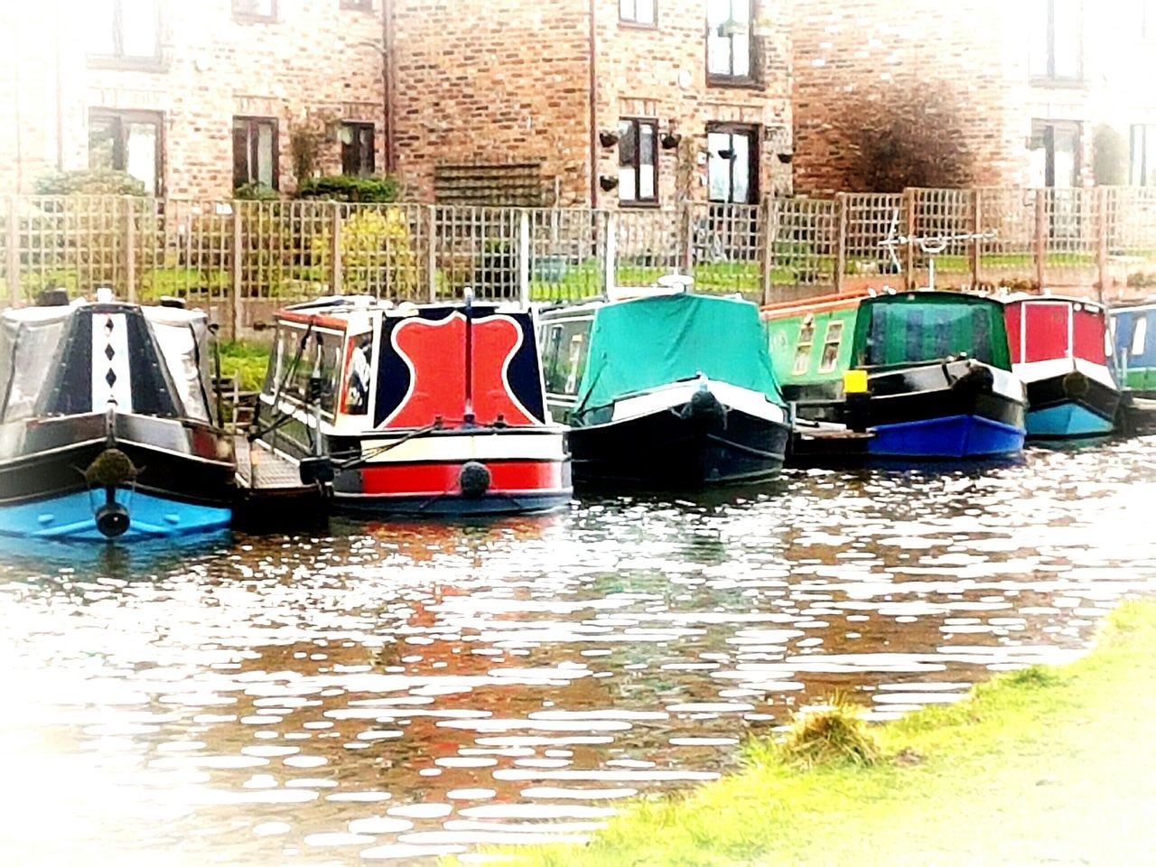 Water Nautical Vessel Canal Canals And Waterways Canal Boats Canal View Rural