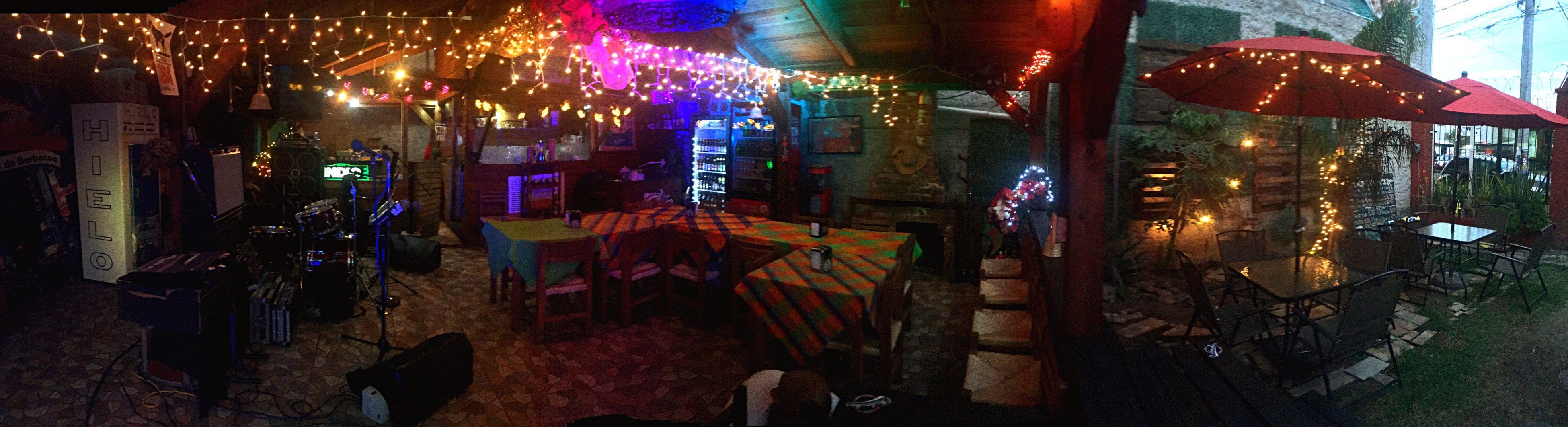 illuminated, night, lighting equipment, neon, indoors, multi colored, nightlife, no people, architecture