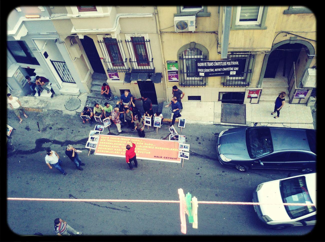 Tarlabaşı sokak eylemi