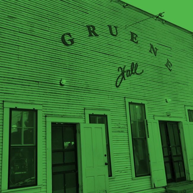 Gruene Hall Building Exterior Architecture Landmarkbuildings Vintage Signs Green People And Places Texas