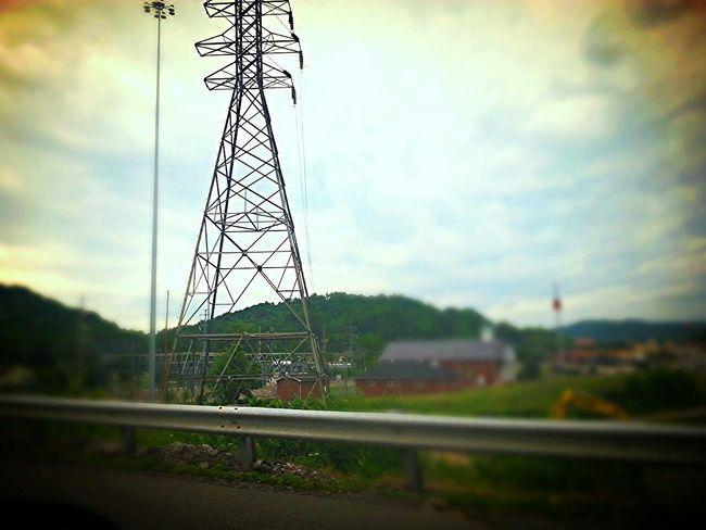 Road Trip Kentucky  Georgia Via Michigan Interstate Side Of The Road Church Power Pole Photo Editor Pro