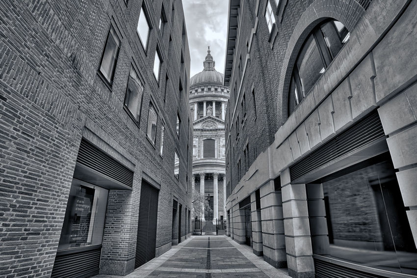 Saint Paul Cathedral B&W Architecture Architecture Blackandwhite Building Built Structure Bw_collection Cathedral City Day Europe EyeEm Best Edits EyeEm Best Shots EyeEm Best Shots - Black + White EyeEm Gallery London Outdoors Saint Paul Saint Paul's Cathedral Sky Street Streetphoto_bw Streetphotography Uk United Kingdom Walkway