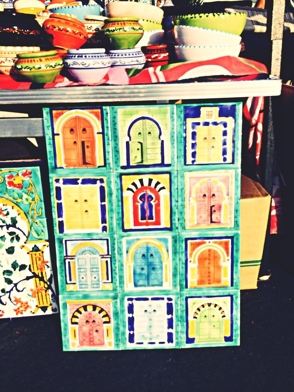 multi colored, no people, for sale, variation, choice, large group of objects, indoors, market, day, close-up