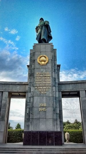 Europe Fascism Heroic Historic Monument Russian Statue War
