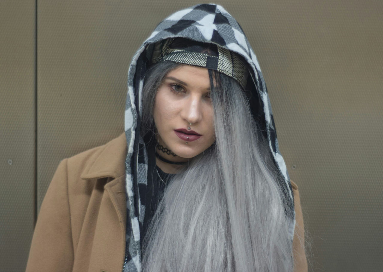 Beautiful stock photos of body piercing,  20-24 Years,  Architecture,  Built Structure,  Caucasian Ethnicity