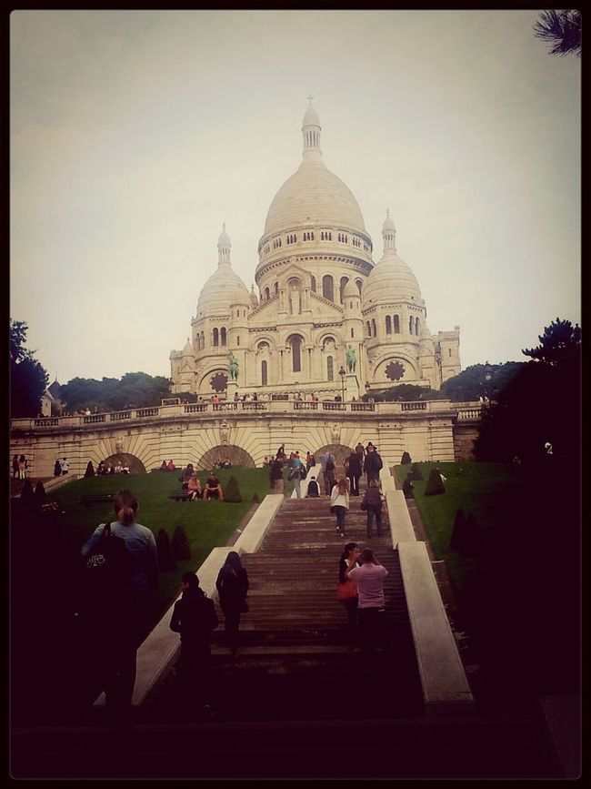 Sacre Cœur Hanging Out Taking Photos Relaxing Great Atmosphere