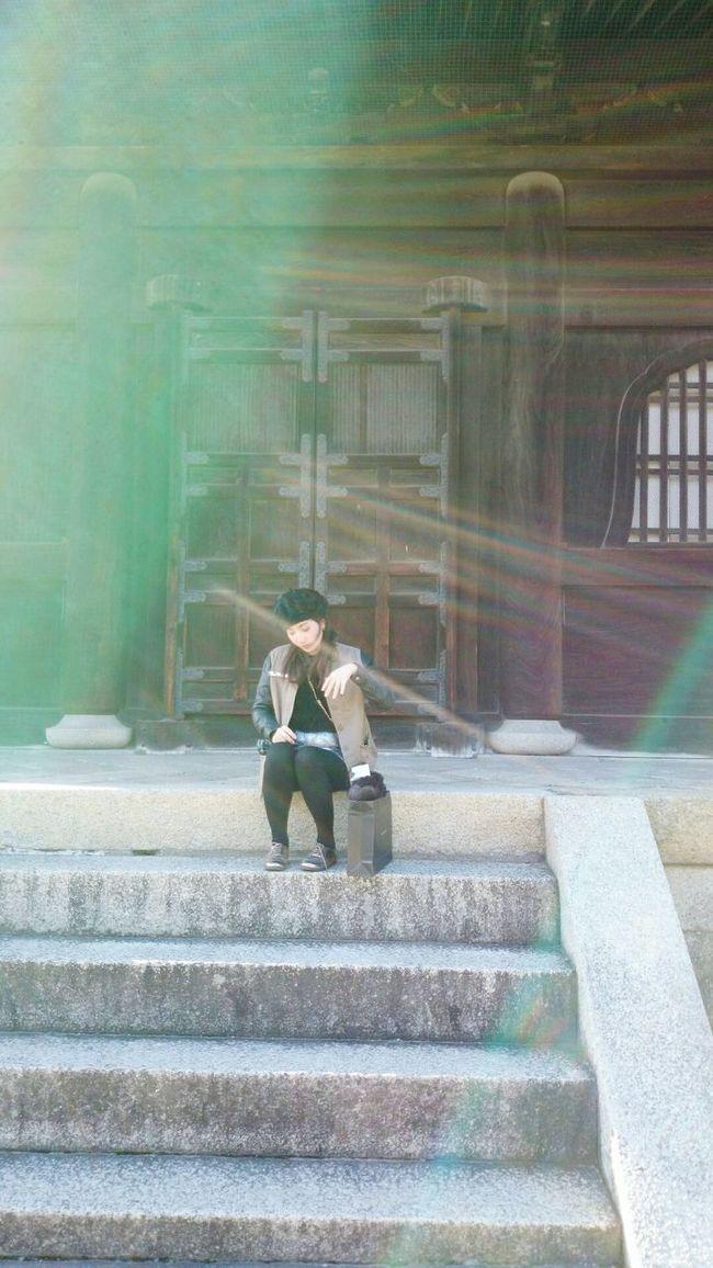 GoodDay❤ Goodlife❤ GoodMorning⛅ Sunlight ☀ Shitennoji Japanese Temple Osaka 大阪 Osaka-shi,Japan
