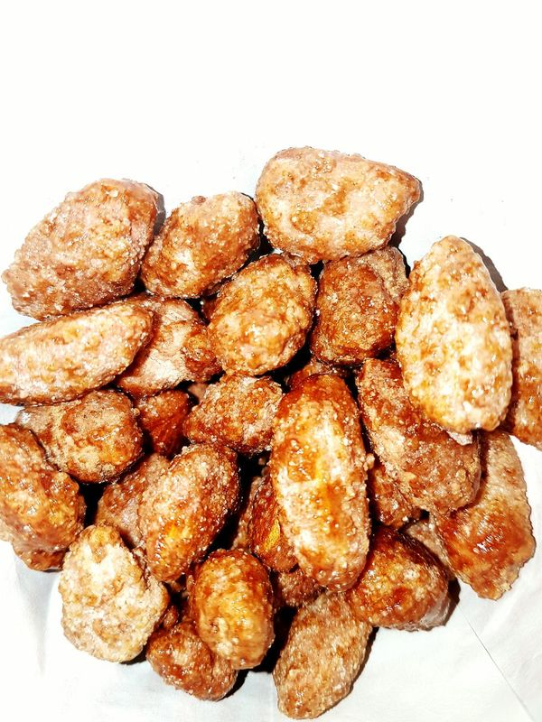 Food Food And Drink Freshness Ready-to-eat Close-up Fried Indoors  No People Healthy Eating Deep Fried  Day Mandeln Gebrannte Mandeln Almonds