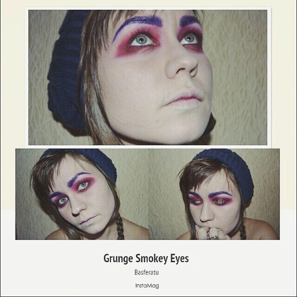 That's Me Makeup Makeupartist Hello World Grunge Grungegirl Grunge Makeup Selfie Check This Out Russian Girl