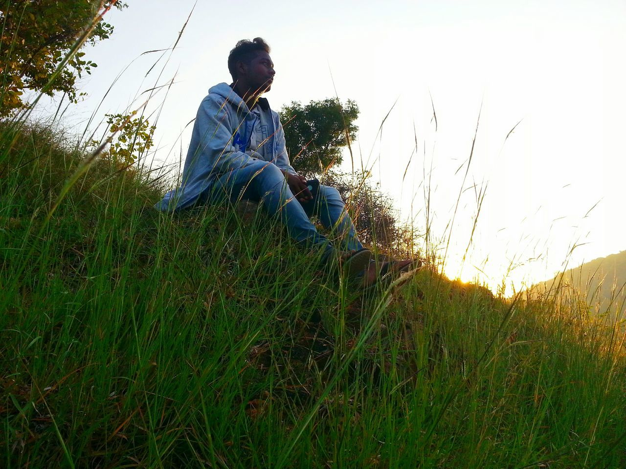 One Person Full Length Leisure Activity Outdoors Tree Grass Beauty In Nature Nature EyeEm Best Shots I Show The World What I See Check This Out! Sunset_collection Sun_collection Agriculture Scenics Embrace Urban Life Urban Photography Mensfashion Winter_collection Model Photography Modeling Shoot Winter Mountains Jeans Shirts Of EyeEm
