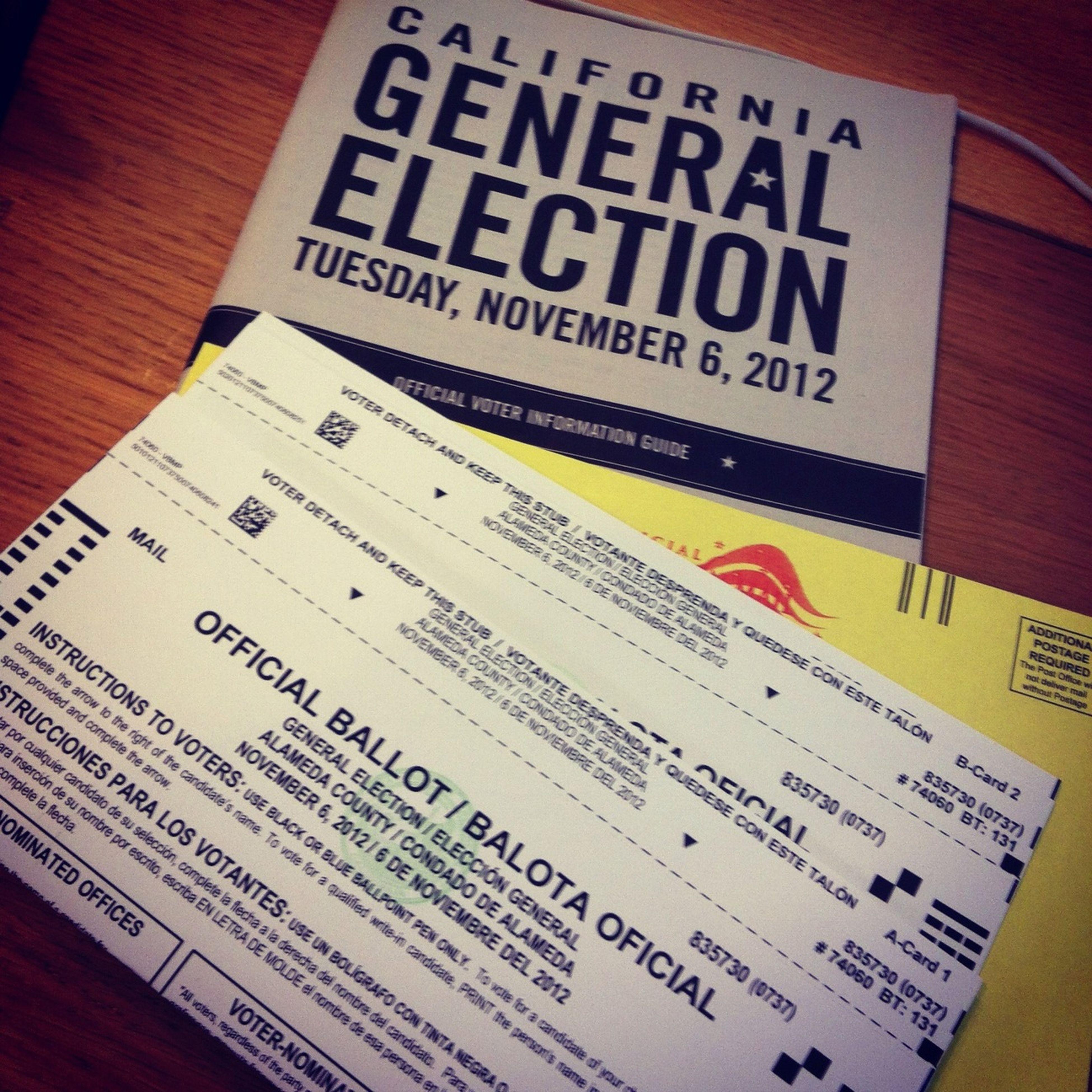 そろそろやっつけちゃわないと…。- Election 2012