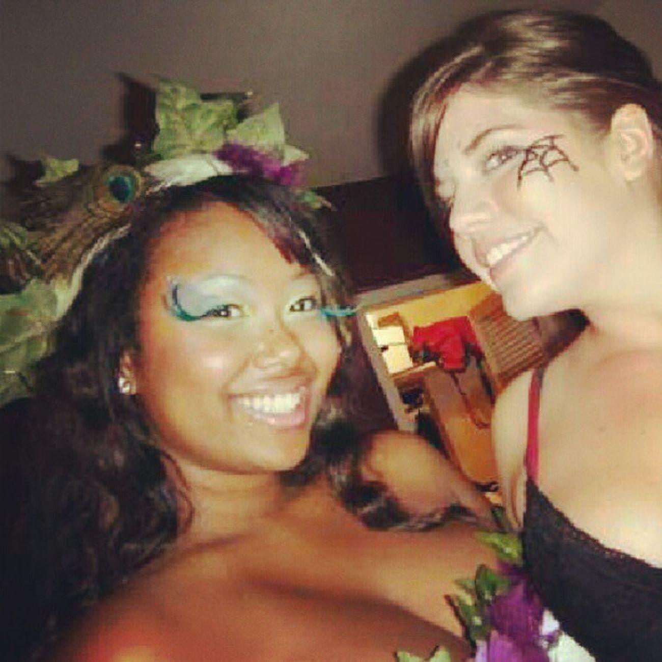 Poison ivy and black widow Raves TBT  Spookfest @tara4allmankind