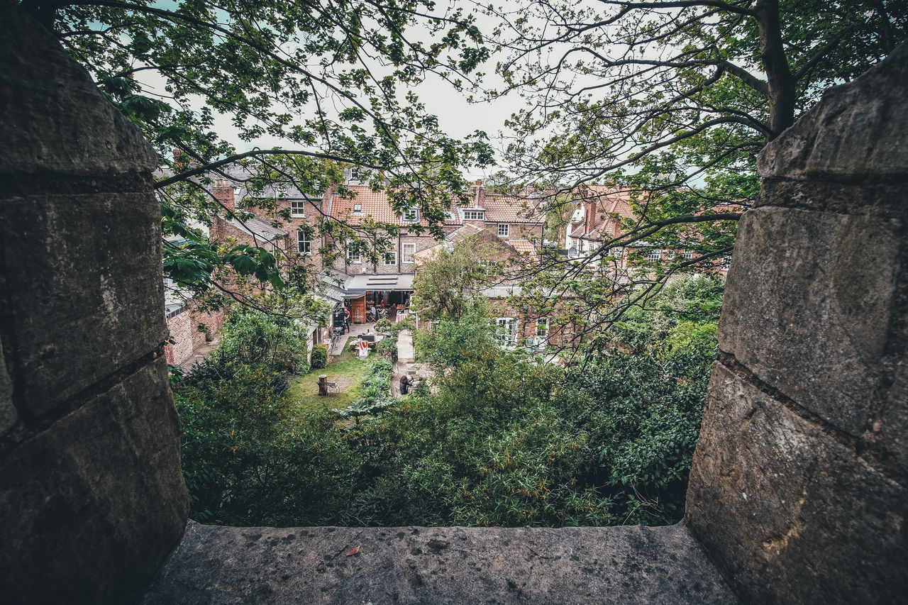 View from the City Wall City Wall From The Citywall Green Color Scenery Spring The Great Outdoors - 2017 EyeEm Awards Uk York