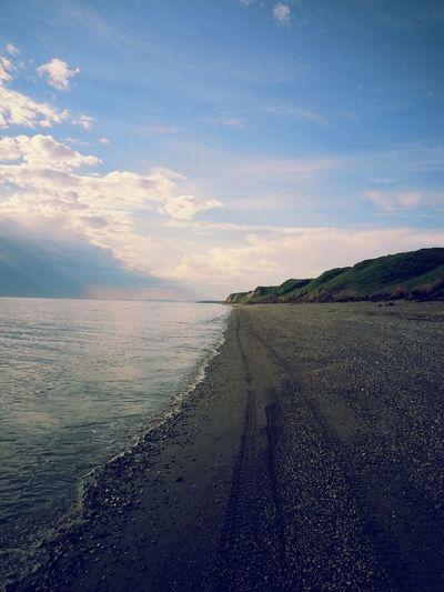Four wheeler rides. Beach Beautiful No Filter Clouds