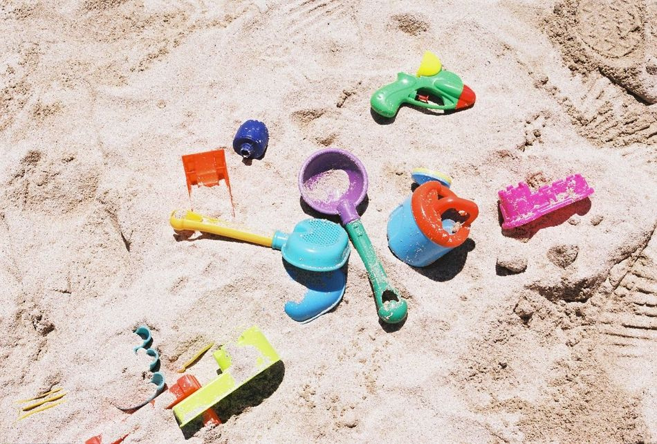 Beautiful stock photos of sand, Beach, Childhood, Day, High Angle View