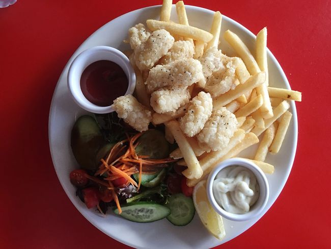 Chef's Special | Salt And Pepper Calamari In My Mouf | Late Lunch