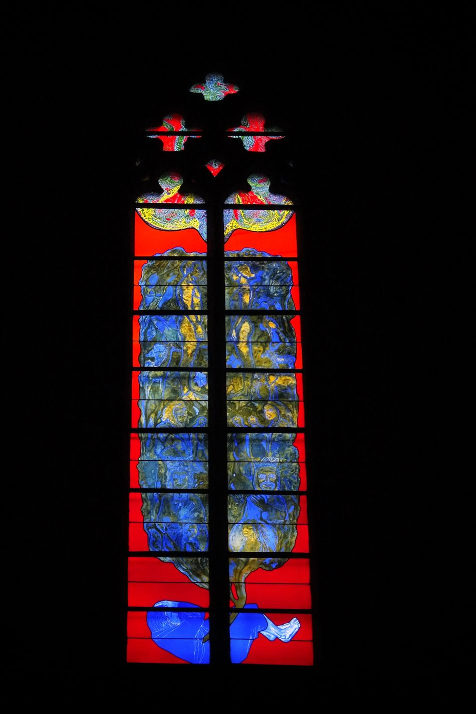 Cathédrale De Rodez Cathedral Vitrail Vitraux Stained Glass Window Rodez Aveyron Art Religious Art Religious Architecture Colorfull Colorful Colors