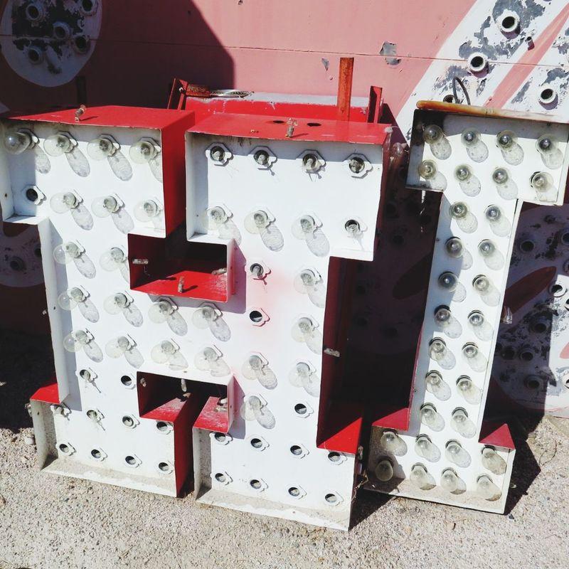 Hi!♥ Las Vegas Neon Neon Museum Signs SignSignEverywhereASign Vintage