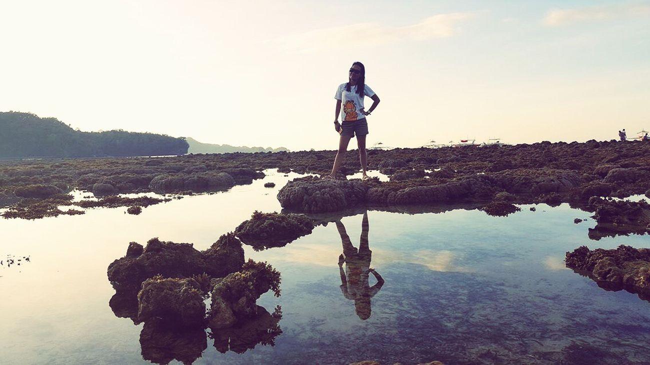 That's Me My Life Beautiful Nature Enjoying Life Tinagong Dagat GoodMorning⛅