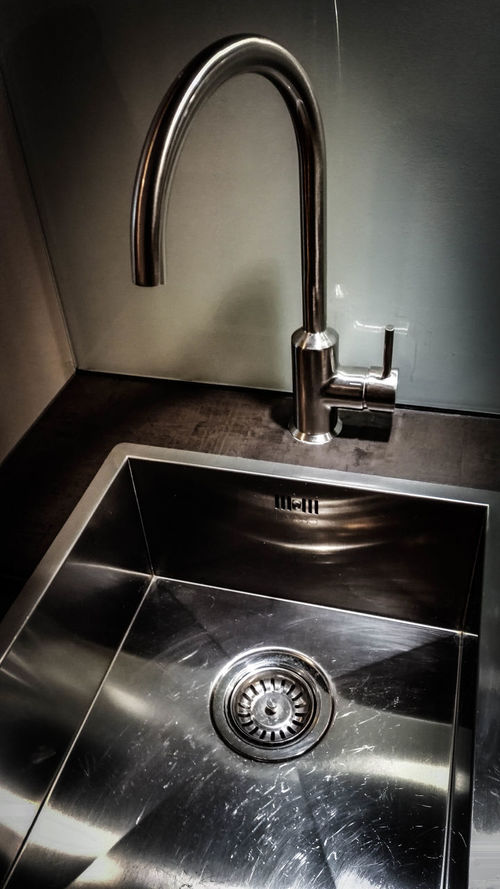 Architecture Built Structure Close-up Faucet High Angle View Home Interior Indoors  Metal Retro Styled Single Object Sink Tap Waschbecken Wasserhahn Water-tap