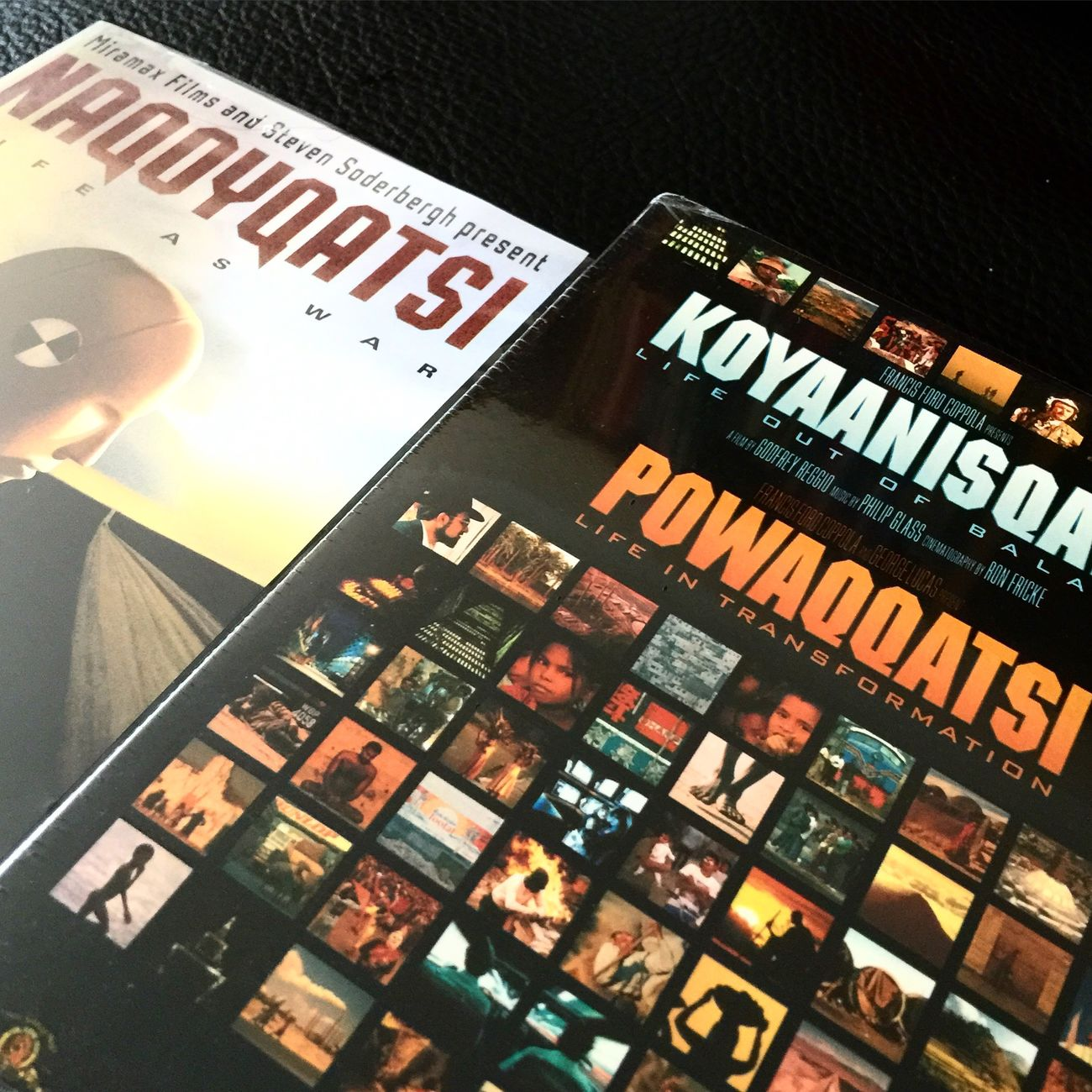 Home alone, movienight. Koyaanisqatsi Powaqqatsi Naqoyqatsi Movienight