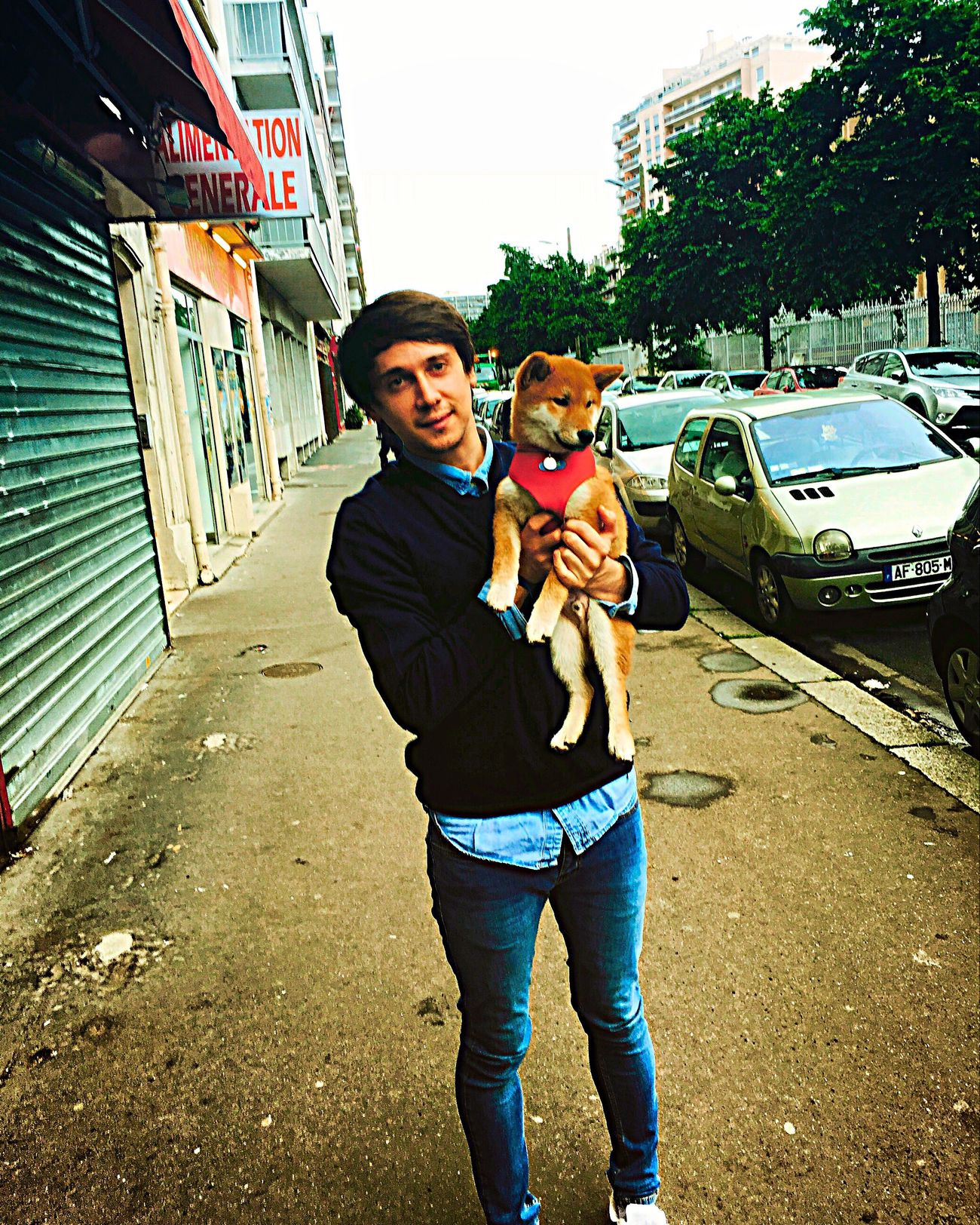 Paris France Paris, France  Beautiful Dog Dog Love Party Fashion Cool Outfit Chill Model Mode Models Modeling Shooting Vogue Model Shoot Photography Photo Like Instalove Vintage Style Eiffel Tower Euro2016