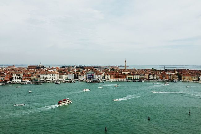 From The Rooftop venice as seen from the campanile on san giorgio island. Open Edit Italia Venice, Italy Huffington Post Stories RePicture Travel Shootermag EyeEm Best Shots Mobilephotography Peace And Quiet