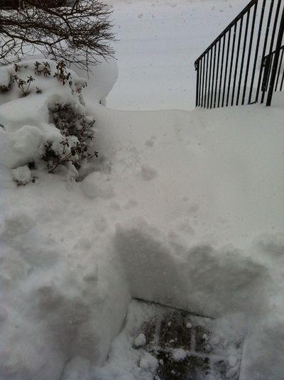Big Snow At Boston