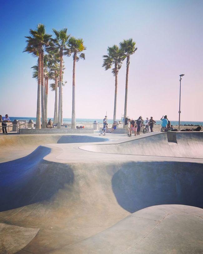 USA California Venice Beach Skatepark