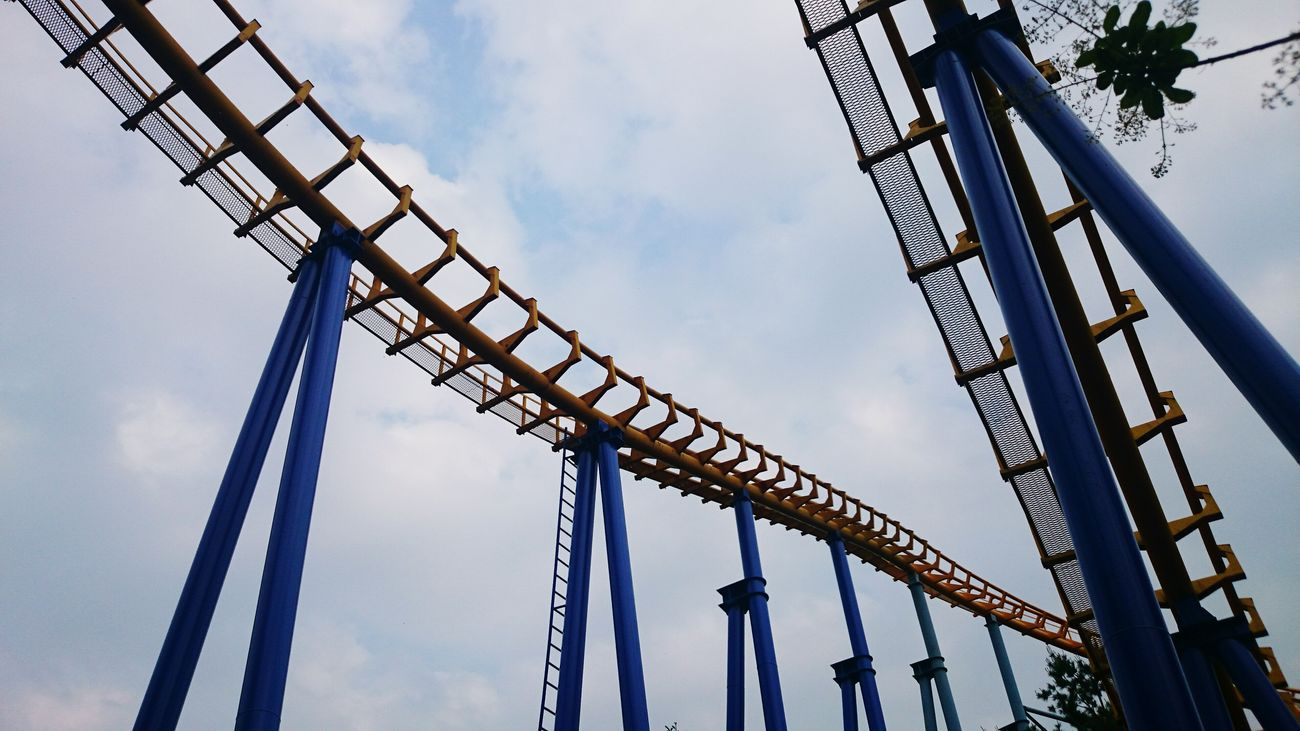 Roller Coaster Riding Roller Coasters Seoulland