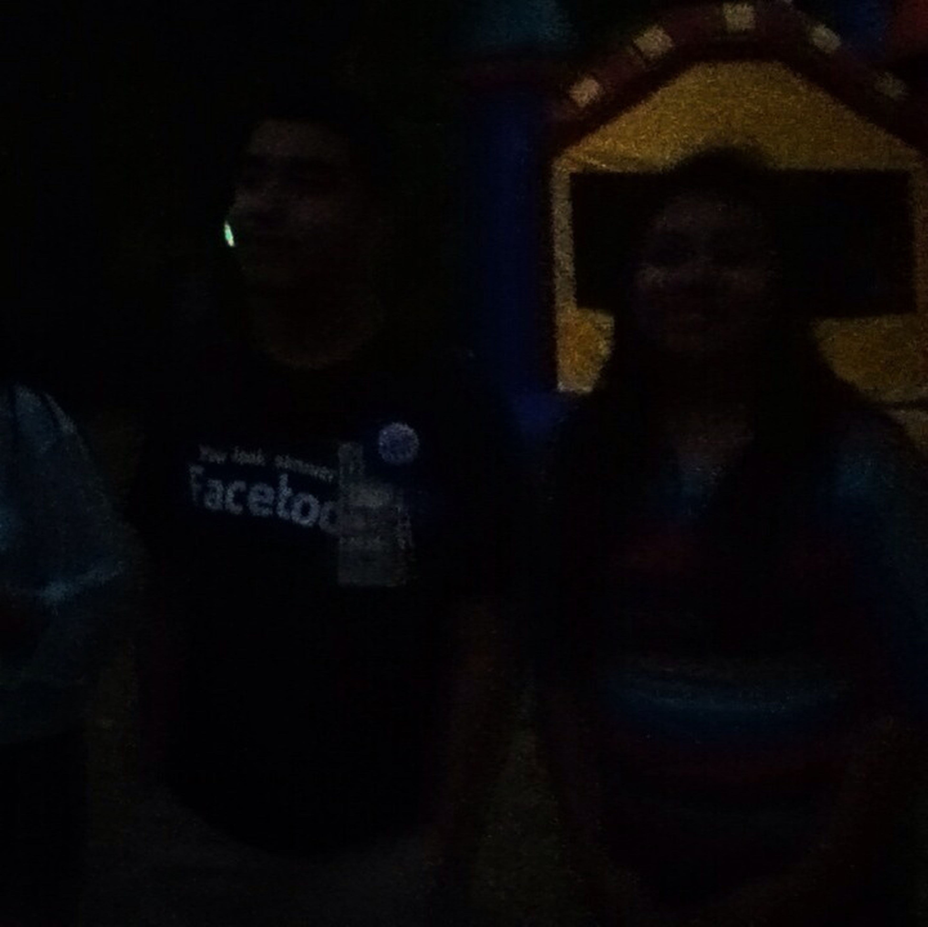 My Cusinn David Party C: I Look Rachitt-.- Cant Really See:/