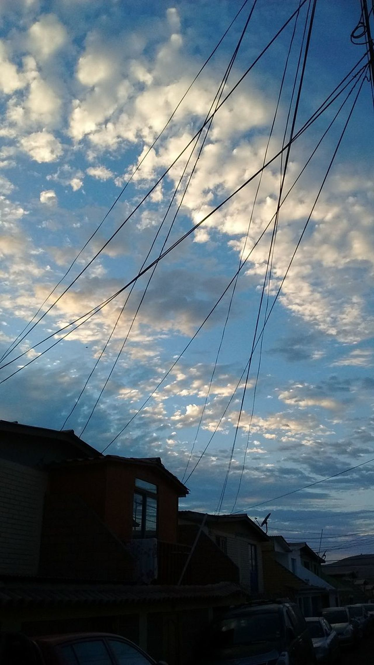 Cable Cloud - Sky No People Power Line  Building Exterior Electricity  Electricity  Dramatic Sky
