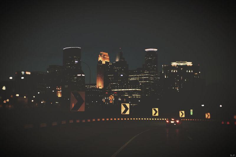 Downtown Minneapolis CityAtNight Nightphotography Frommycar Manuallens