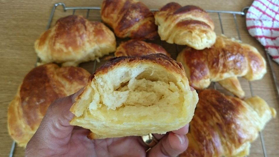 Taking Photos Homemade Fresh Croissants Lolol Yummy♡ Join Me Awesome_shot