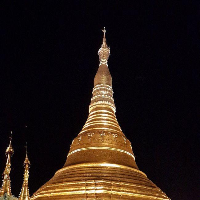 Shwedagon Shwedagonpagoda Yangon Myanmar