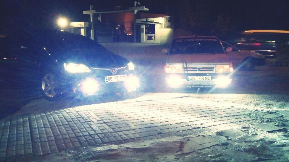 Şehirin en manzaralı yerin de degil Ama Ankaranin En özel yerin de 2 arabayı da test etmek guzeldi