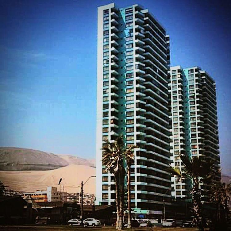 Edificios Playa Brava Cerro Dragón Duna Iquique Chile