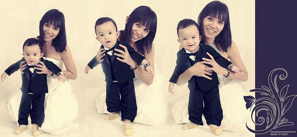 Kevin and Mom Kid Photography at Binjai Medan