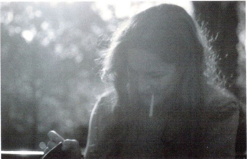 Film Photography Blackandwhite Smoking Girl Nikkormat London