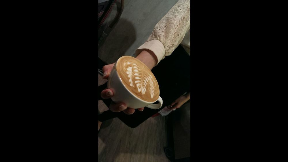 Coffee Cafe Latte 咖啡外漏 Rosetta Espresso Coffee Chiayi