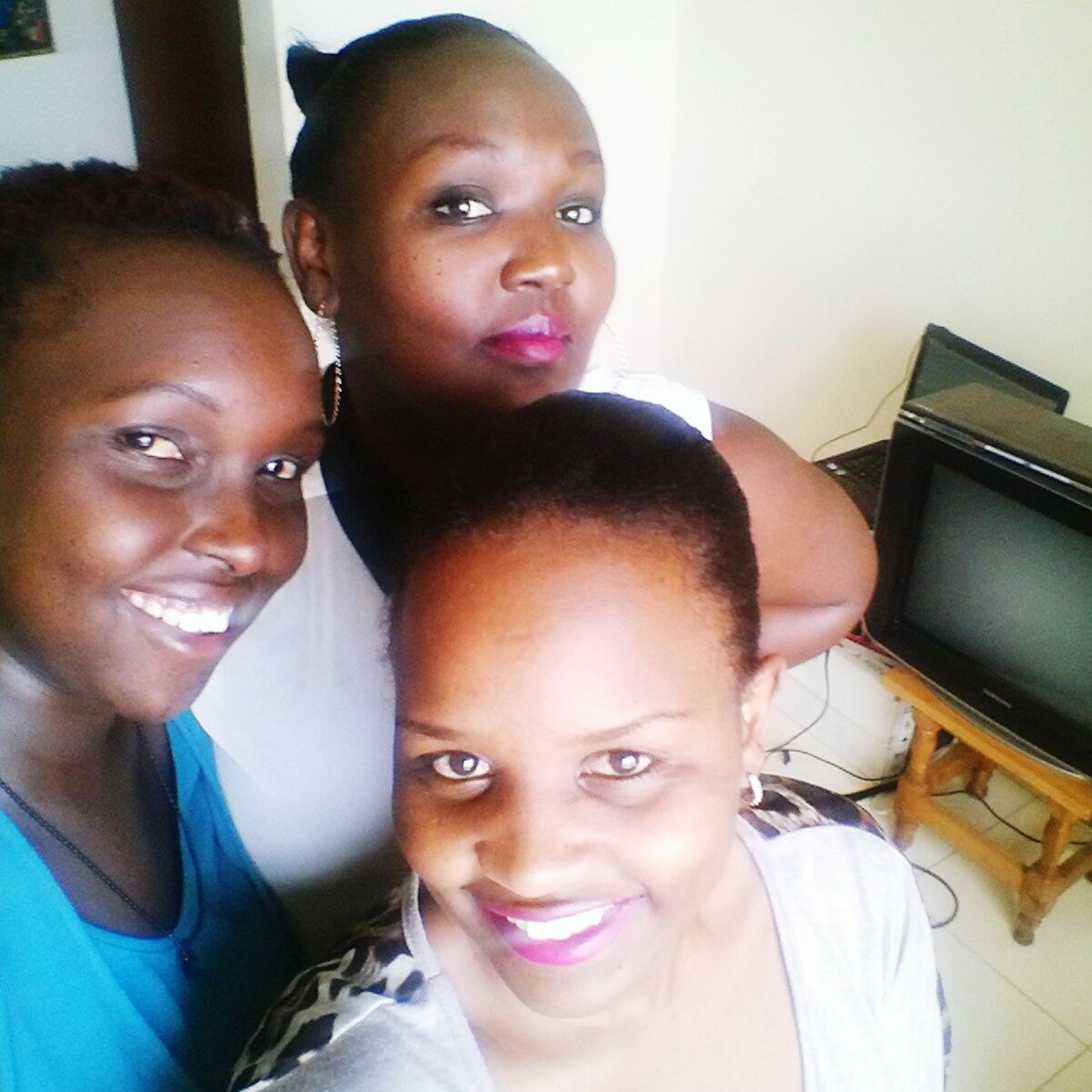 Best Friends Withthegirls# Trioselfie Proudly Kenyan